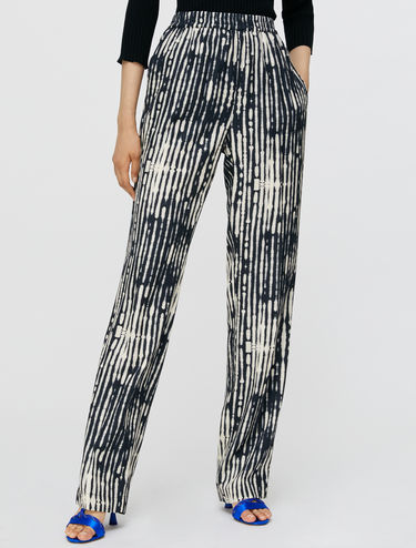 Relaxed-Fit Twillhose