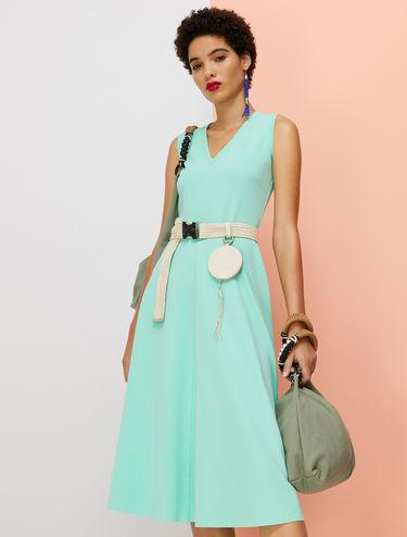Jersey twill dress