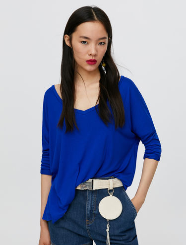 Oversize flowing T-shirt