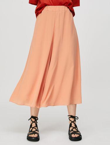 Jupe-culotte en pure soie