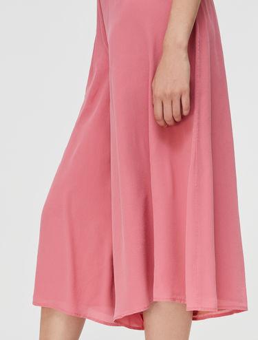 Pantalón culotte de seda pura