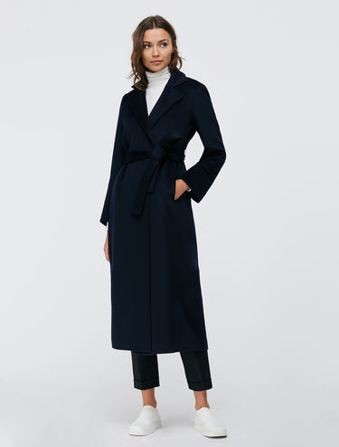 Manteau croisé Long Run mi-long