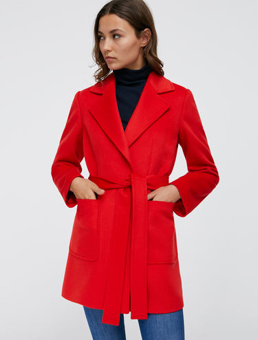 Shortrun pea coat in beaver