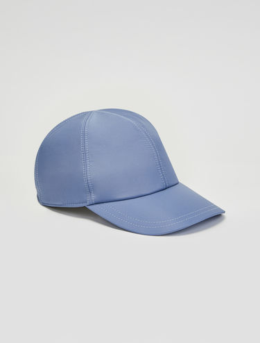 Techno satin baseball hat