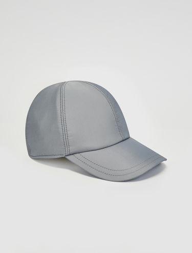 Casquette de baseball en satin technique