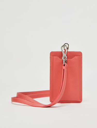 Mobile phone holder with strap
