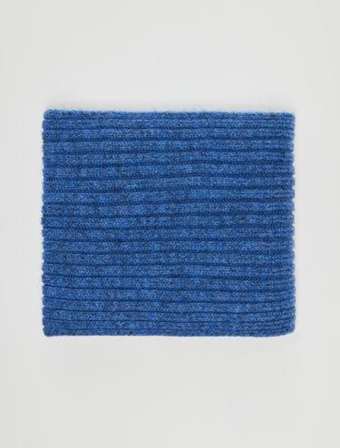 Rib-knit scarf