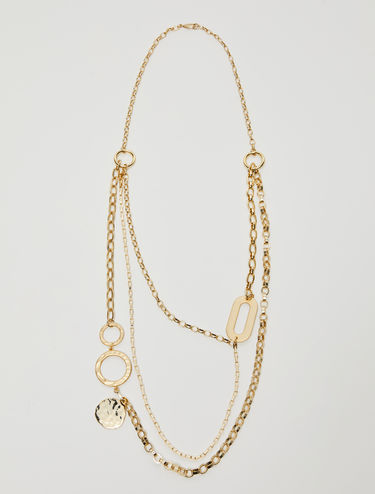 Multi-chain asymmetric necklace