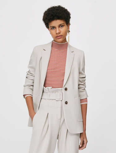Slim two-button blazer
