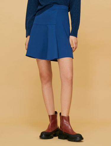 Cavalry twill mini skirt