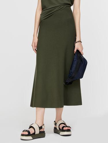 Aライン ニット スカート
