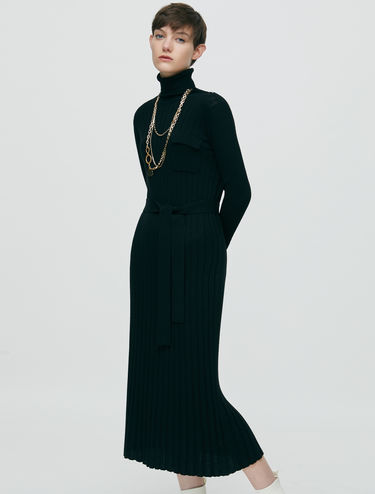 Long dress di maglia