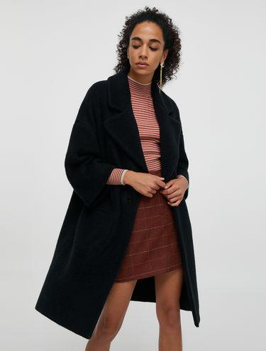 Manteau en jersey doux