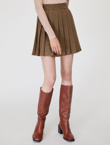 Cloth miniskirt
