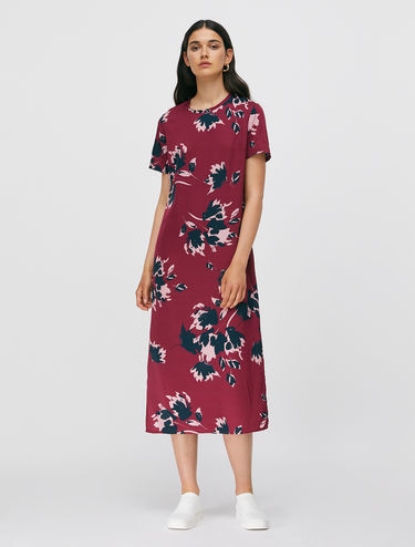 Twill T-shirt dress