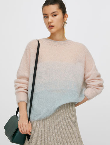 Soft mohair jumper