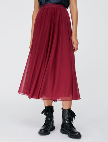 Circle skirt in jersey