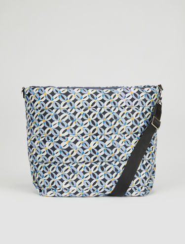 Reversible printed pillow bag