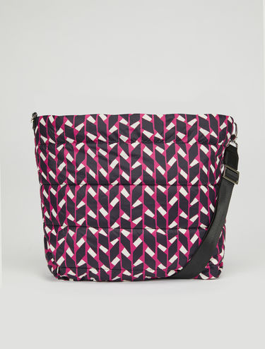 Bolso Pillow reversible estampado