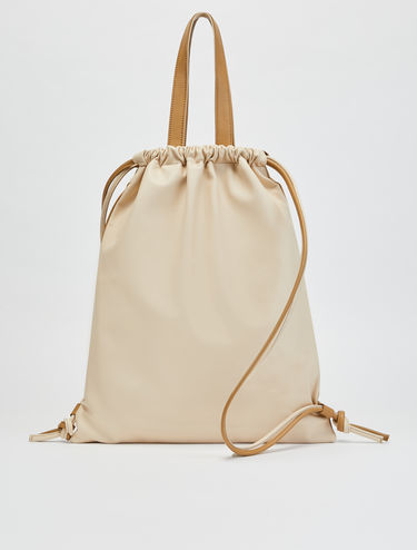 ROO shopper backpack in nappa leather