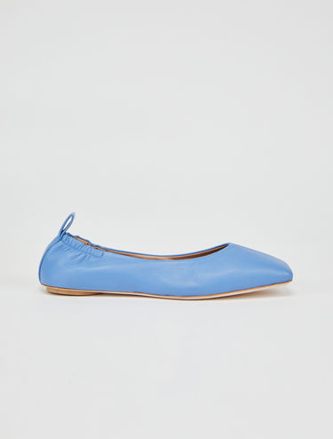 Extra-soft nappa leather ballet flats