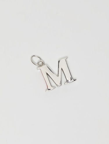 Silver charm letters