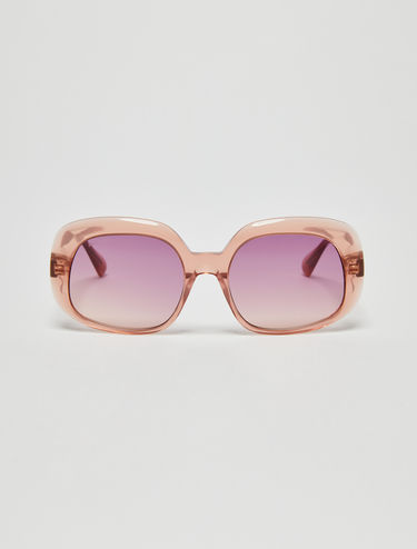Pink acetate sunglasses