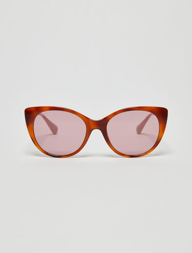 Soft cat eye sunglasses