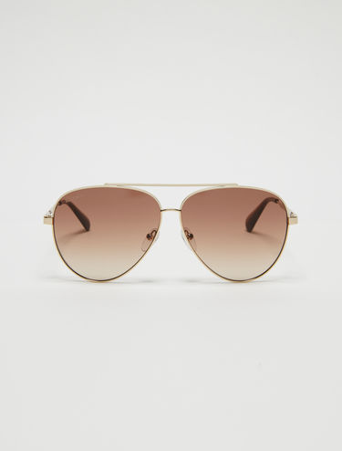 Teardrop aviator glasses