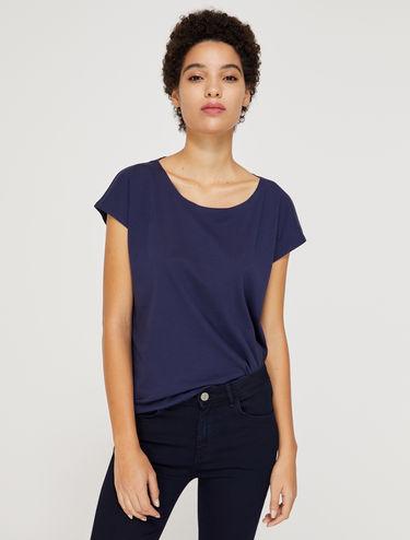 Camiseta de punto de algodón