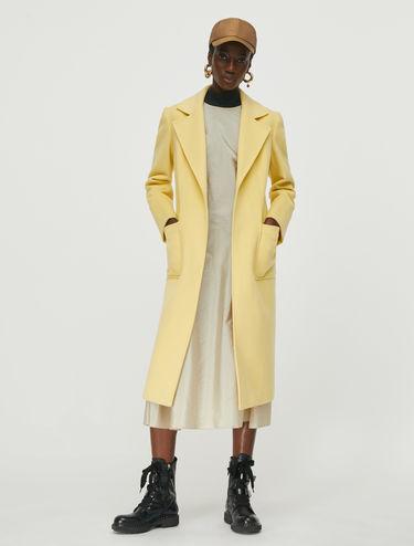 Runaway belted coat