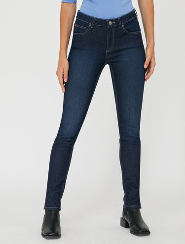 Jeans skinny in denim organico