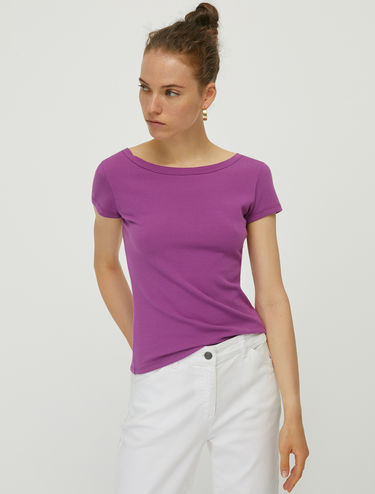 Slim-fit jersey T-shirt