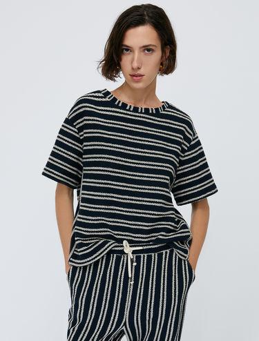 [ダヌビオ] シェブロン ジャージー Tシャツ