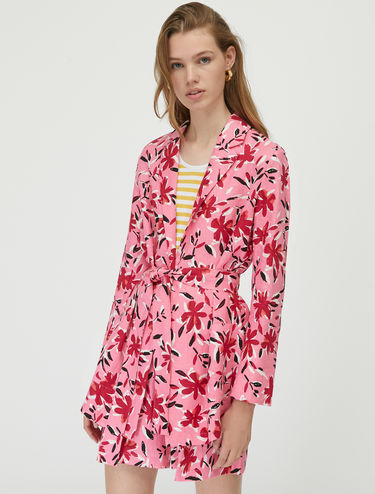 Pure linen blazer