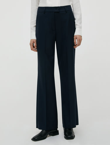 Boot-cut trousers