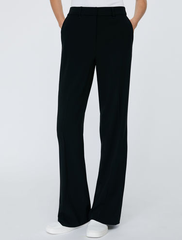 Classic straight-fit trousers