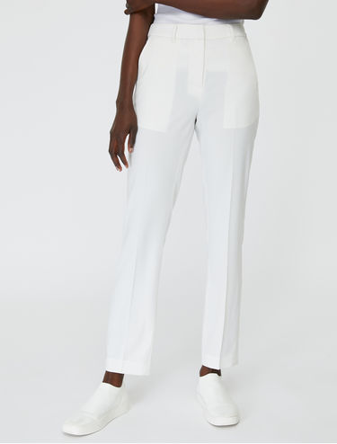 Classic slim-fit trousers
