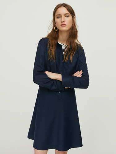 Long-sleeve shirt dress