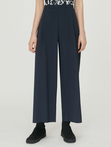 Techno-jersey trousers