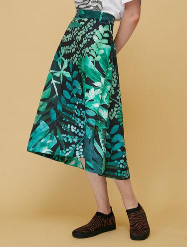 Ottoman midi skirt