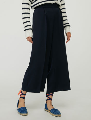 Panta culotte in envers satin