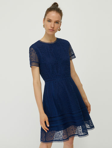 Short macramé dress