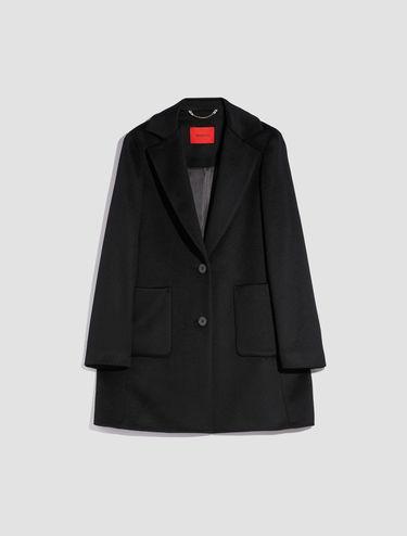 Manteau en castorine pure laine