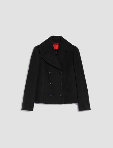 Cloth pea coat