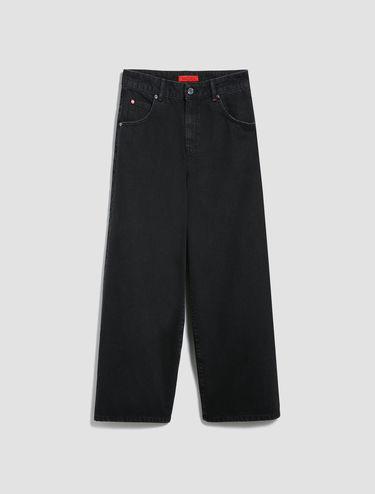 Jean large raccourci