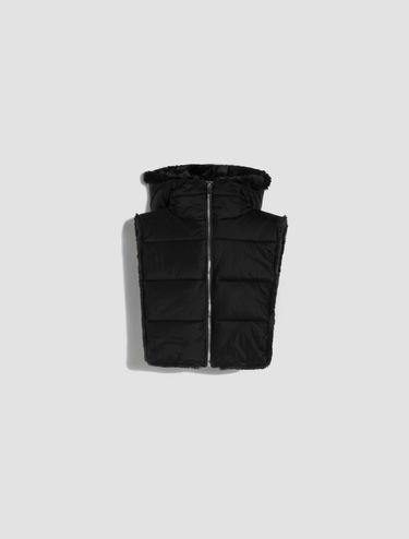Reversible hood collar