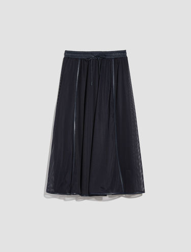 Technical mesh Corolla Midi Skirt