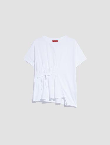 T-shirt en jersey et popeline