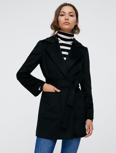 Shortrun pea coat in drap